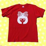 画像1: △りぼんちゃんTシャツ 2,800円 見てるだけで「きゅんっ」としちゃう、懐かしさがTシャツに!とってもガーリー!! vvstore.jp