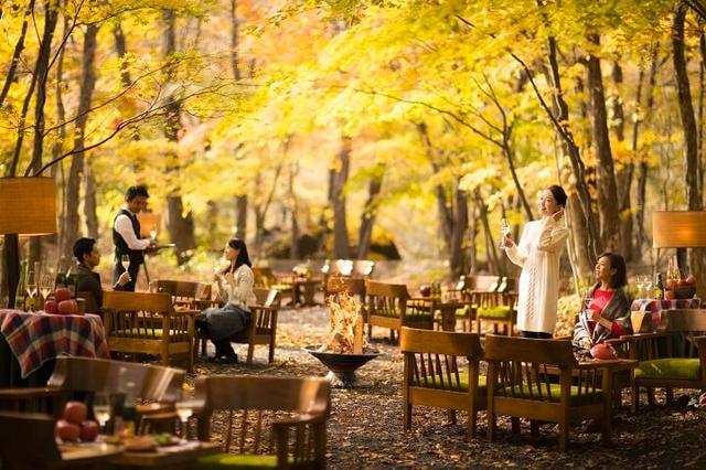 画像: 秋を感じながら旬のりんごを楽しむ