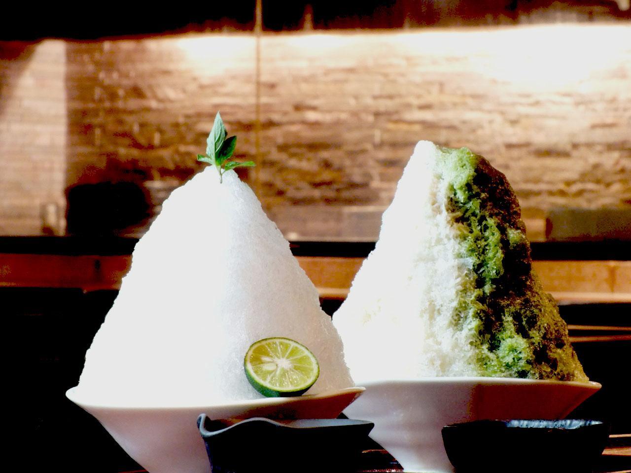 画像: 生姜メインの料理屋のかき氷は、もちろん自家製「生姜シロップ」でいただきます