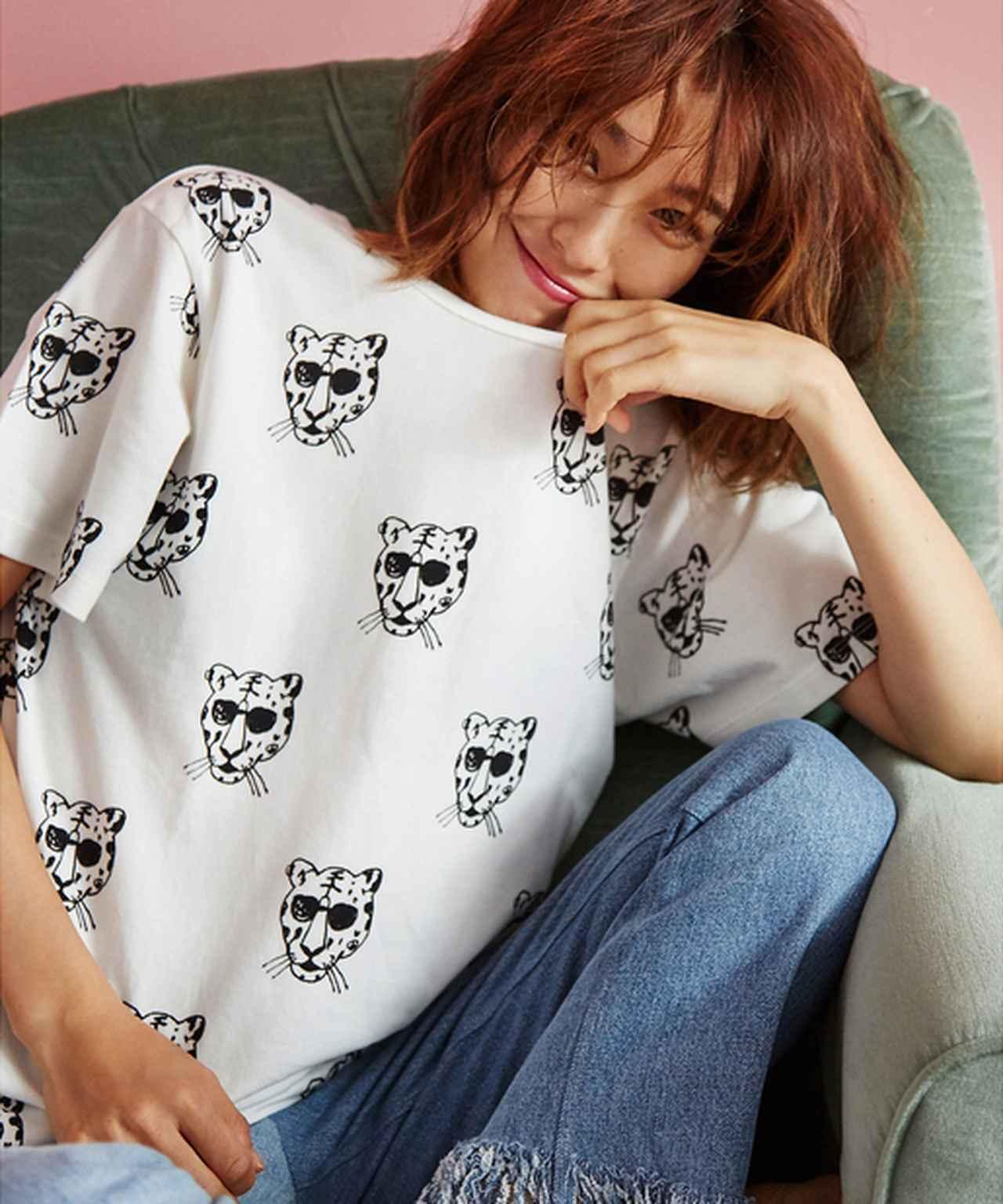 画像: タイガーTシャツ¥5,500