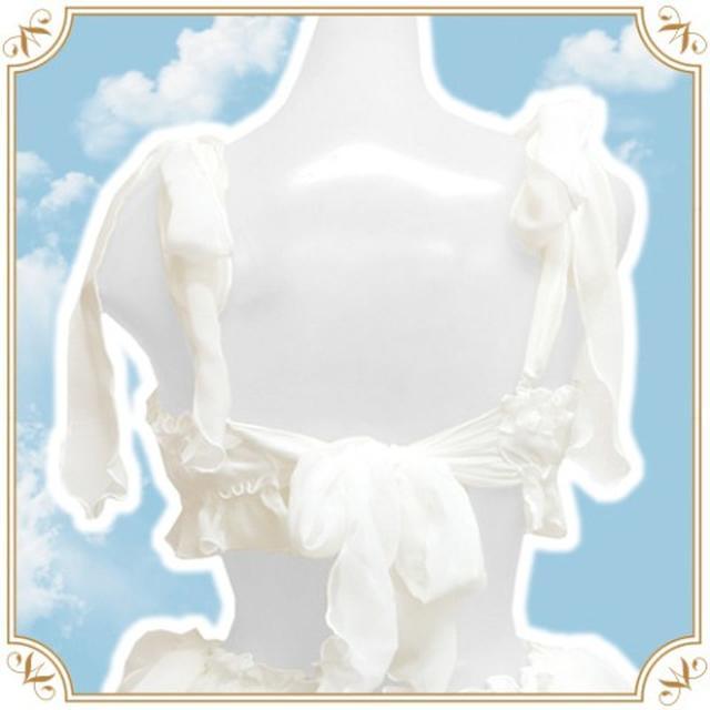 画像: 後ろのリボンは、まるで天使の羽のよう。