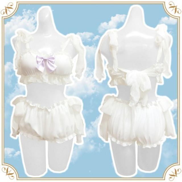 画像: ふわふわ甘い夢を❤️ まるで天使のような「綿菓子ランジェリー」が登場!