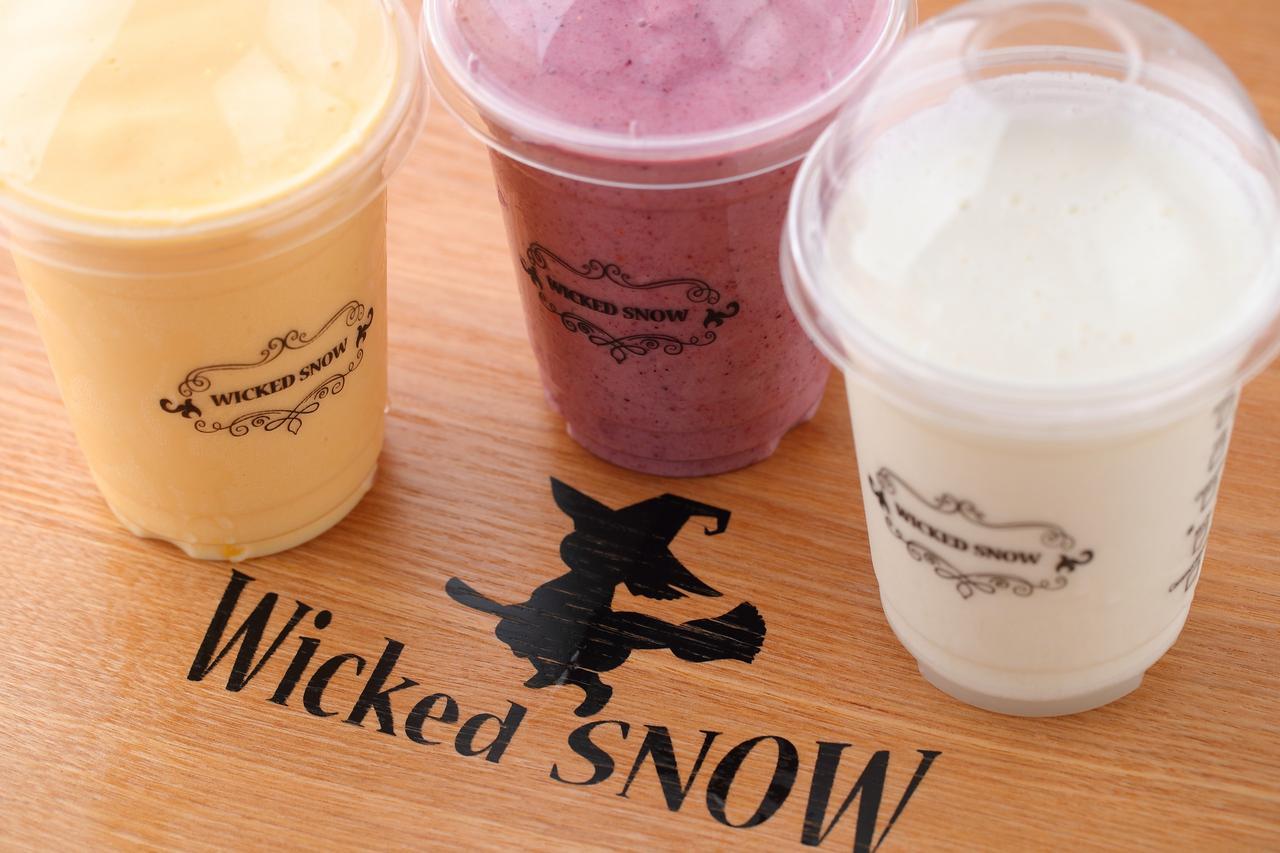 画像3: 韓国発かき氷カフェ「WickedSnow」がテイクアウト可能に!