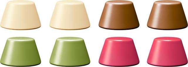 画像: 1.ピノアイス:3種類(バニラ+2種類選択、各2粒・合計6粒)