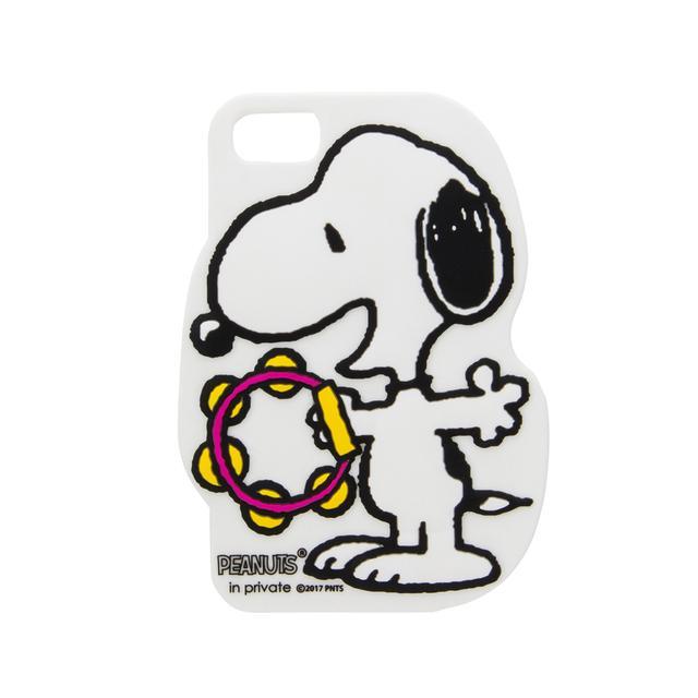 画像: ダイカット iPhone ケース 2,500円 手になじみやすく、弾力性のあるラバーで、後ろやサイドをしっかりカバーしてくれます。7/6/6S対応。