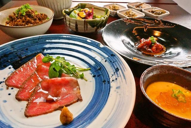 画像: 休日昼間から飲みたい方必見『肉割烹ランチコース全8品2000円』