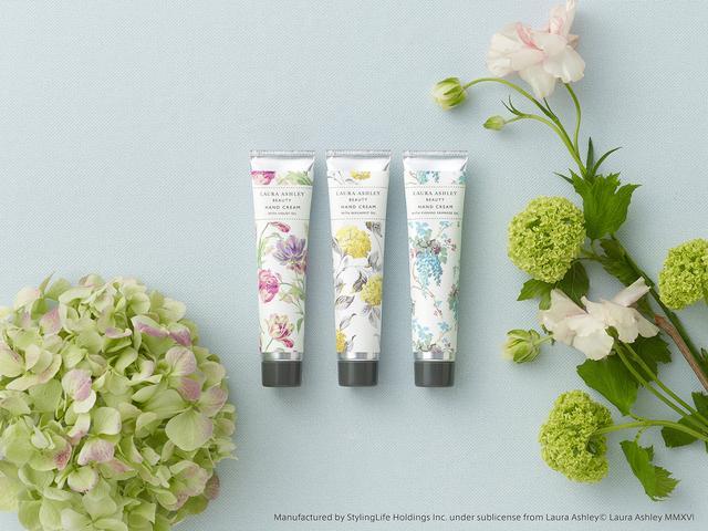 画像1: 『ローラ アシュレイ ビューティ』ハンドクリームより、イングリッシュガーデンを想わせる花々の新しい香りが新登場!