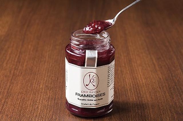 画像: 【フランボワーズ】 イチゴよりやや強めのさっぱりとした酸味と、フランスで好まれるしっかりとした甘みをもったジャムに仕上げてあります。