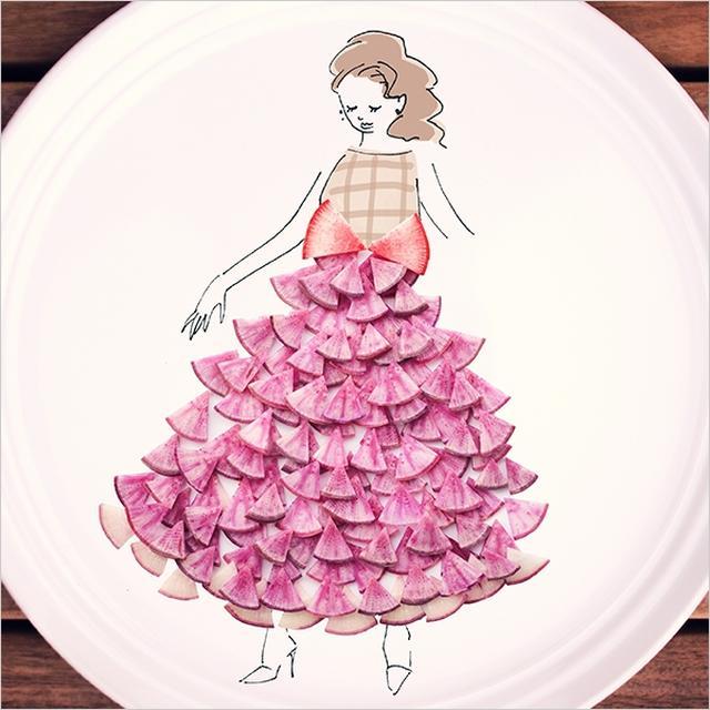 画像3: 『#やさいドレス』写真投稿例