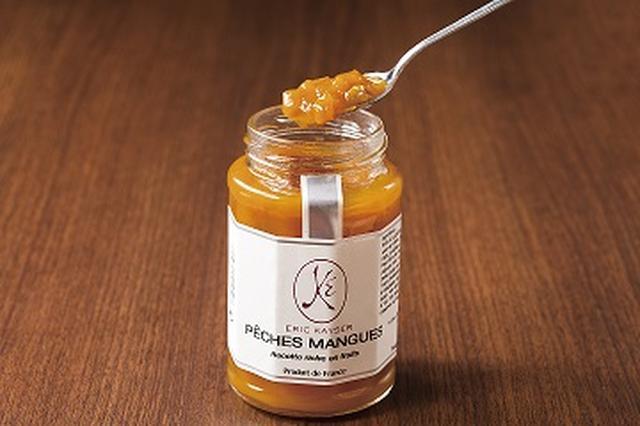 画像: 【ペッシュマンゴー】 ペッシュマンゴーはピーチとマンゴーという意味で、どちらも果実自体が持つ味わいと甘さが活かされて、素晴らしいジャムに仕上がっています。