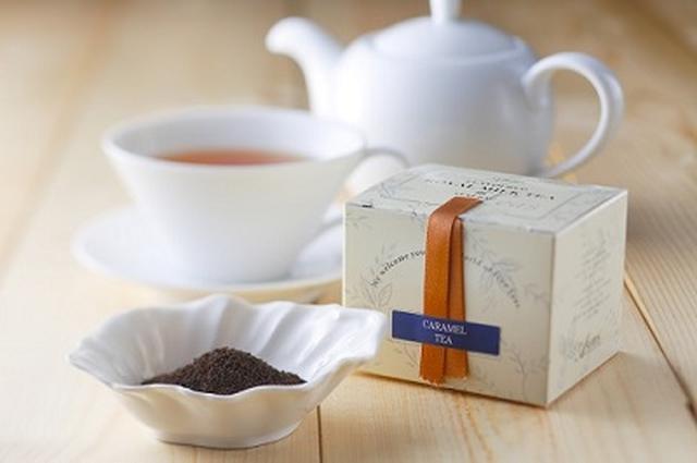 画像: ウェルカムドリンクは、英国紅茶「ASHBYS OF LONDON」のフレーバーティー