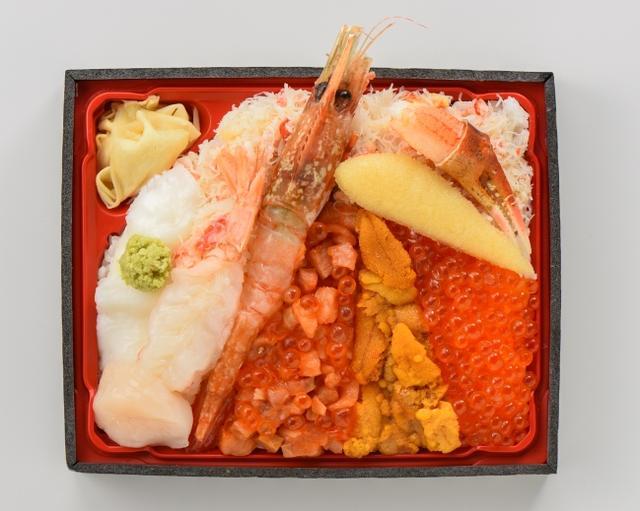 画像: 今井商店「海鮮紅葉弁当」