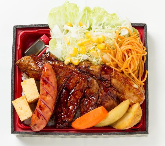 画像: 豚丼のはなとかち「十勝トンテキ弁当」