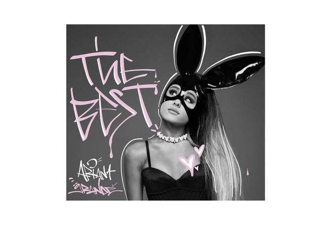 """画像: アリアナ・グランデ 初のベストアルバム『ザ・ベスト』-Ariana Grande """"The Best"""" - 発売決定!"""