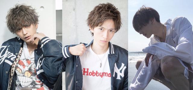 画像: (左から) 中島健さん、黒崎澪音さん、内藤秀一郎さん