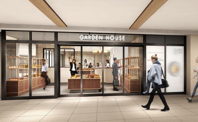画像4: ≪カフェ≫と≪セレクトベーカリーショップ≫、2つのデイリーショップが並ぶ「GARDEN HOUSE CAFE」