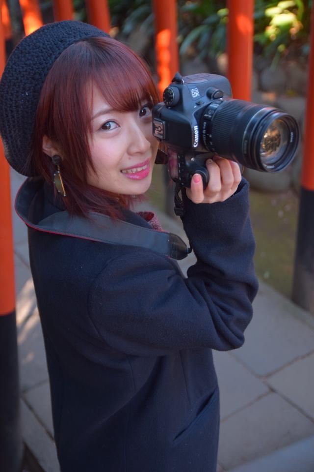画像: SKE48高柳明音さんによる「I♡BIRD ちゅりかめら展in 横浜」