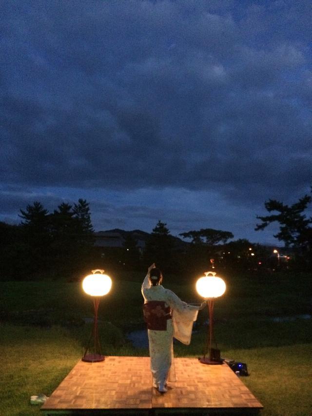 画像: 奈良ホテル 8分12秒のセンセーショナル 『大文字送り火と地歌舞の夕べ』を開催