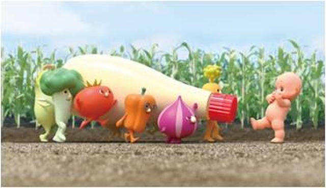 画像: 【キユーピーとヤサイな仲間たち】 「ヤサイな仲間たち」は、キユーピーの野菜に関わる取り組みとお客様をつなぐマスコットです。彩りも個性も豊かな仲間たちで、ヤサイ畑に囲まれたヤサイ村でキユーピーと一緒に暮らしています。