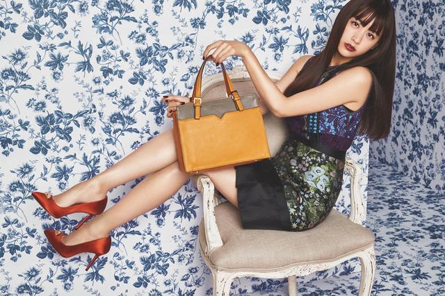 画像1: レディースバッグブランド『Jewelna Rose』新ミューズに山本美月さん!