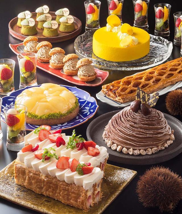 画像1: 日本各地の食材を用いたスイーツが集合