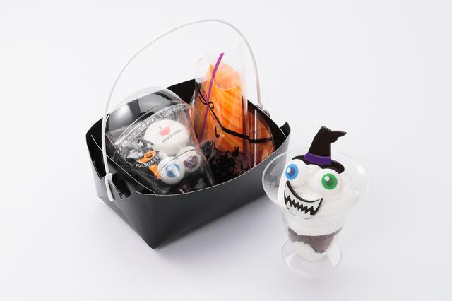 画像: ハロウィンオリジナルデコレーションキット おばけブラウニー/パンプキンカップケーキ 各1000円 【ファクトリー・サンドウィッチ・カンパニー】 生クリームなどでブラウニーやカップケーキをデコレーションし、オリジナルのスイーツを作るキットです。