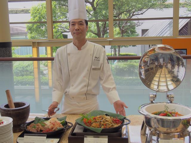 画像: グランカフェ総料理長 松浦健さん