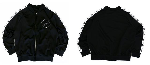 画像: ジャージトップス ¥5,599+税 (color:BLACK)