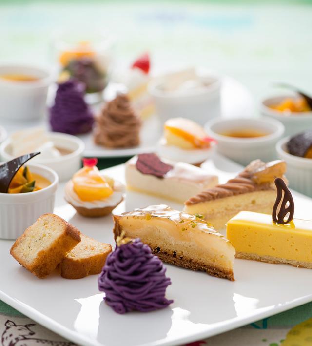 画像2: マロンや洋梨、ぶどうなど秋の実りをスイーツで召し上がれ!