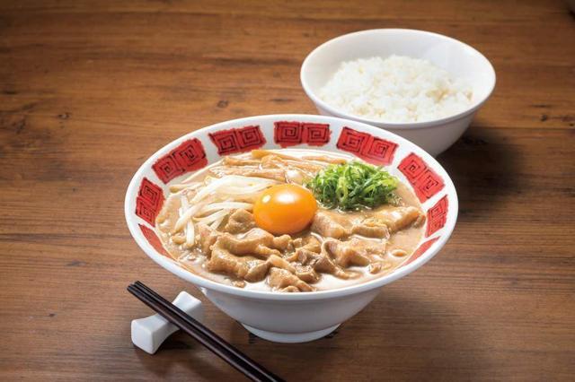 画像: 肉盛り徳島ラーメン