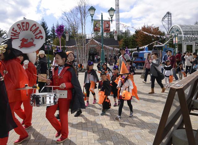 画像: ちびっこあつまれ!ハロウィンパレードや、トーマスランドもイベント盛りだくさん