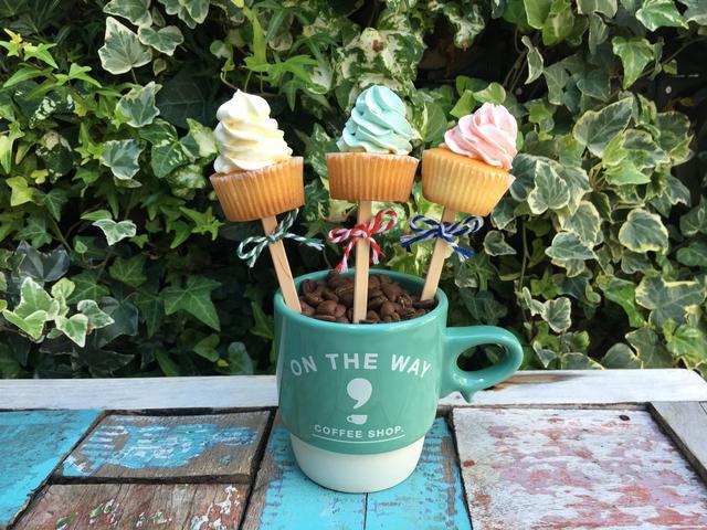画像: ON THE WAY,coffee&cupcake 出店施設:BAY、立川立飛 カップケーキ
