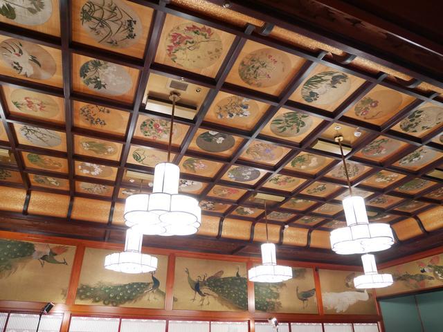 画像: ホテル雅叙園東京 4階和室宴会場「竹林」の天井画