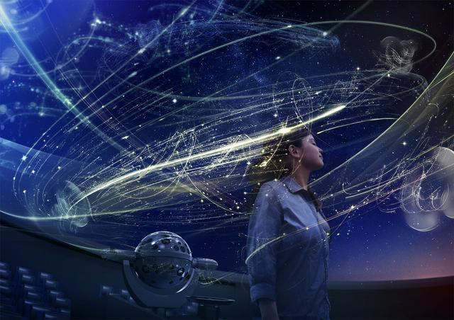 """画像2: コニカミノルタプラネタリウム""""天空""""リニューアル記念作品 『フランス 星めぐりの空で』"""