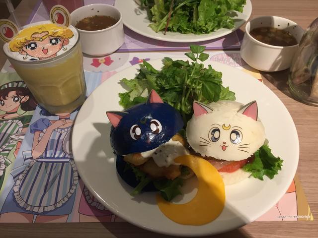 画像: ルナとアルテミスのなかよしバーガー/¥1,690