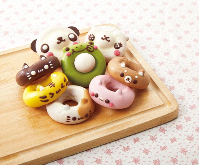 画像: イクミママのどうぶつドーナツ! どうぶつドーナツ