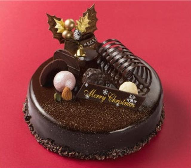 画像: 『スイートチョコレートケーキ』 アーモンドの風味を活かしたクリームとチョコレートムースの絶妙なコラボレーションをご堪能ください。