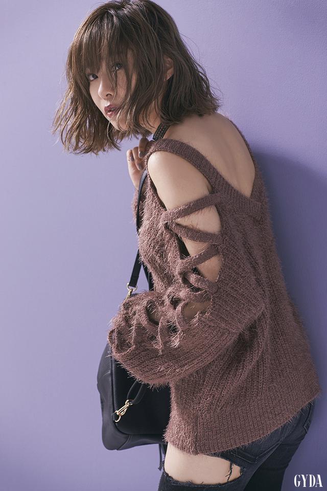 画像3: 指原莉乃さんが「GYDA」のカタログモデルに!
