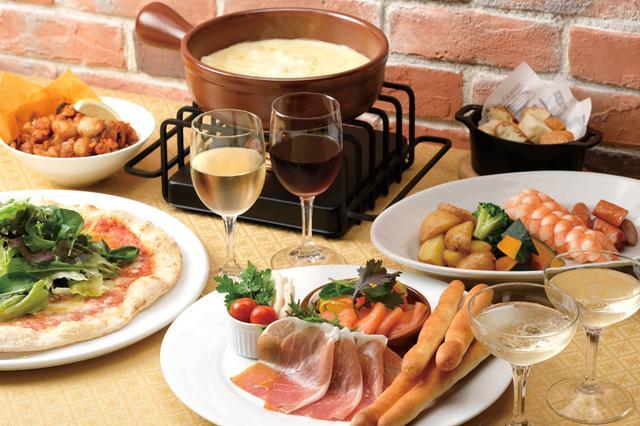 画像2: チーズ好きと一緒に行く?いっぱいからめて食べたい「チーズフォンデュ」