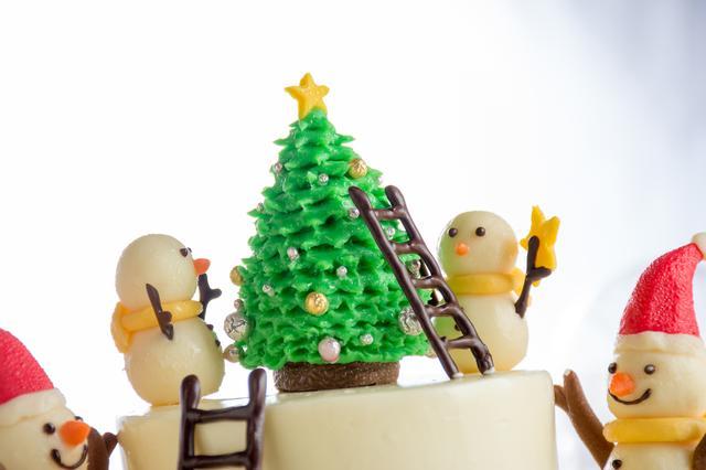 画像: リーガロイヤルホテル東京のクリスマスケーキ