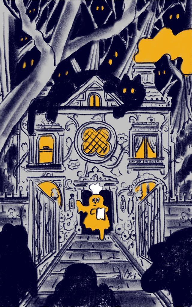 画像2: キャラメルオバケが作るスイーツブランド「CARAMEL GHOST HOUSE」がグランドオープン!