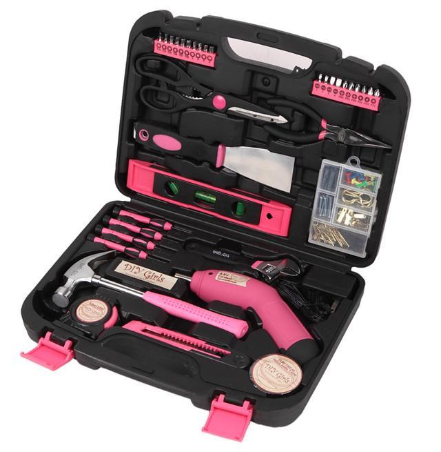 画像1: ハロウィン飾りを手作り!女性のためのピンクで可愛い女性向け工具セットをご紹介!