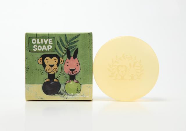 画像: オリーブ由来成分たっぷり石けんが新発売