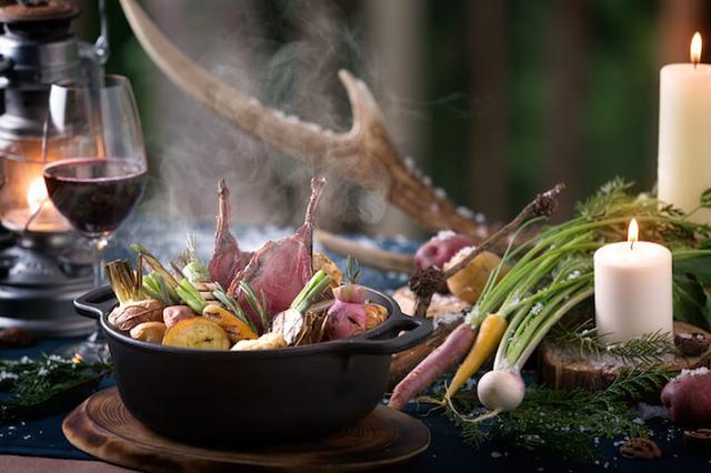 画像: 冬の森で「狩猟肉(ジビエ)」をじっくり味わう!