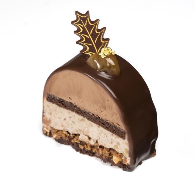 画像1: クリスマスケーキ「ショコラ マロン」
