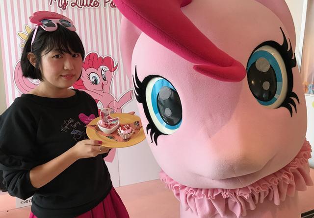 画像1: 期間限定「MY LITTLE PONY Pinkish Cafe」がオープン!