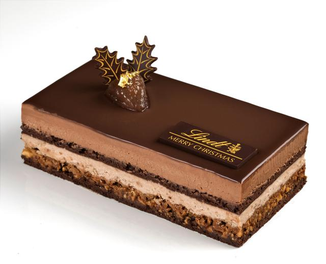 画像2: クリスマスケーキ「ショコラ マロン」