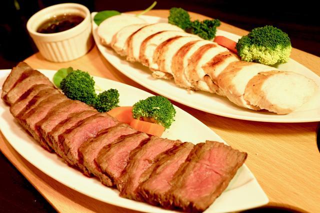 画像1: 肉食女子に朗報!ヘルシーステーキ食べ放題が1290円!