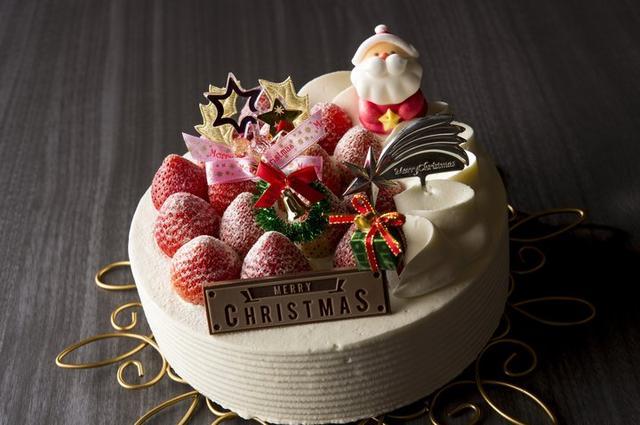 画像2: 苺を丸ごと贅沢にサンドしたクリスマスケーキが今年も登場!