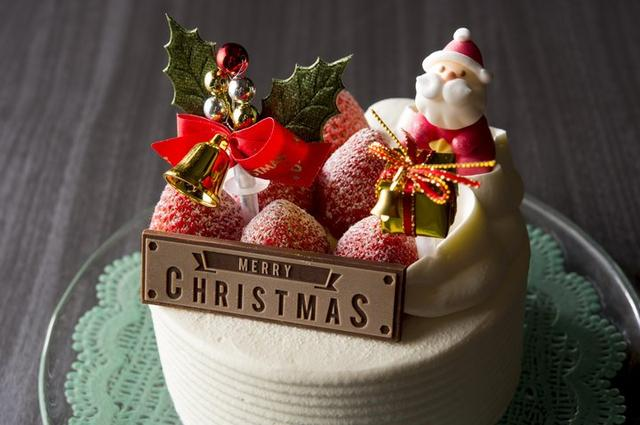 画像3: 苺を丸ごと贅沢にサンドしたクリスマスケーキが今年も登場!